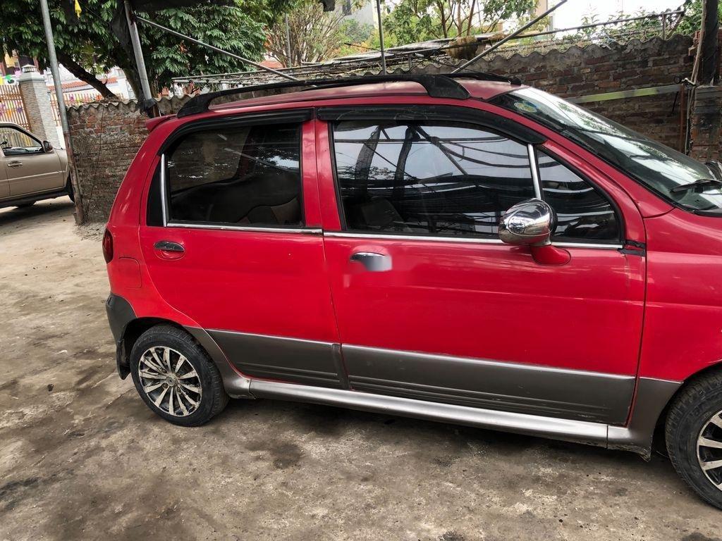 Xe Daewoo Matiz 2005, màu đỏ, nhập khẩu chính chủ, giá tốt (8)