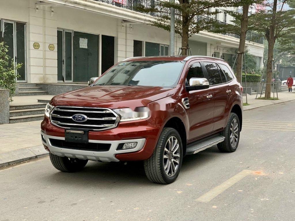 Bán ô tô Ford Everest 2019, màu đỏ, nhập khẩu  (3)