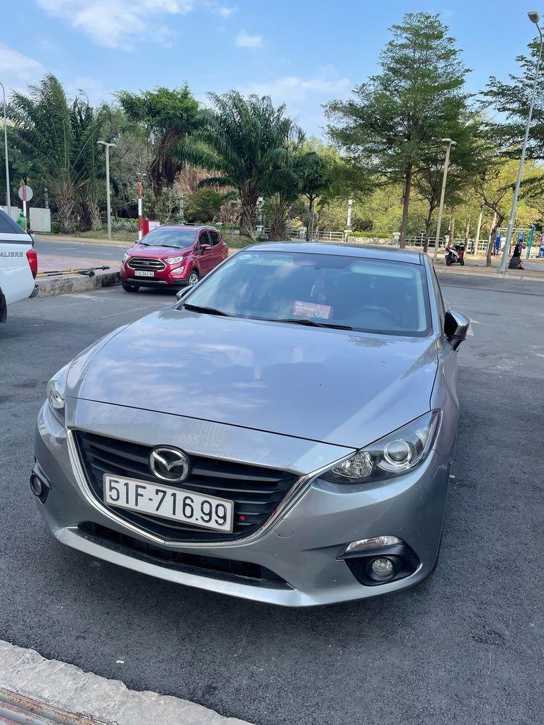 Cần bán xe Mazda 3 đời 2016, màu bạc còn mới, giá tốt (1)