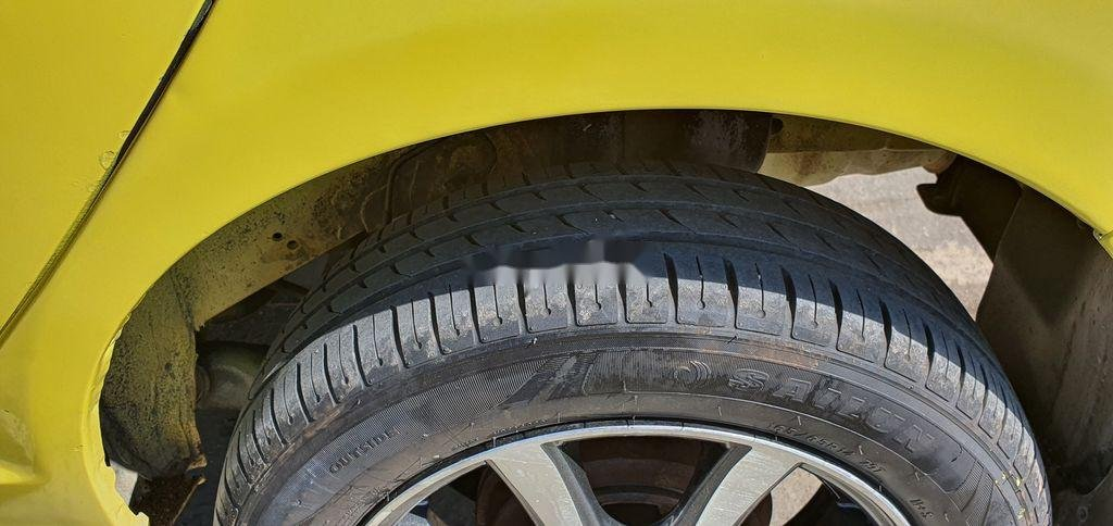 Cần bán xe Kia Morning sản xuất năm 2012, màu vàng (9)