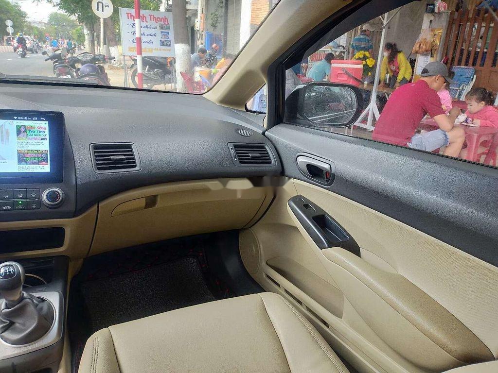 Bán xe Honda Civic 2008, màu đen, nhập khẩu  (7)