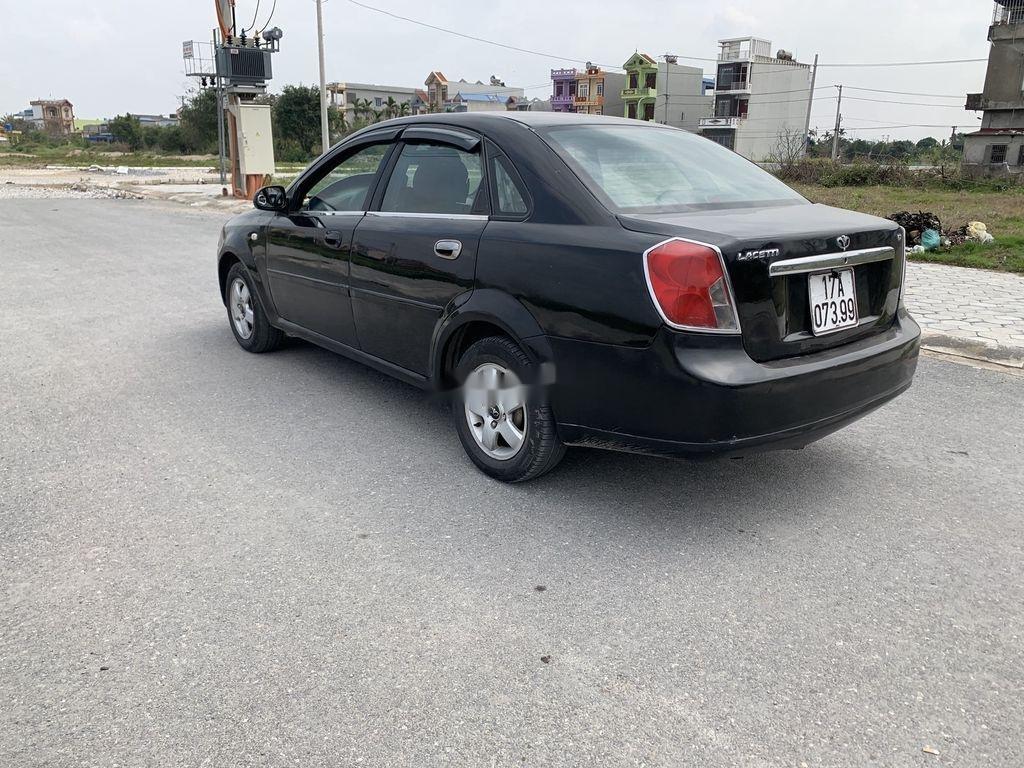 Bán xe Daewoo Lacetti sản xuất năm 2004, màu đen (4)