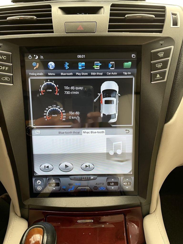 Cần bán lại xe Lexus LS 460L sản xuất 2007, màu đen, nhập khẩu (2)
