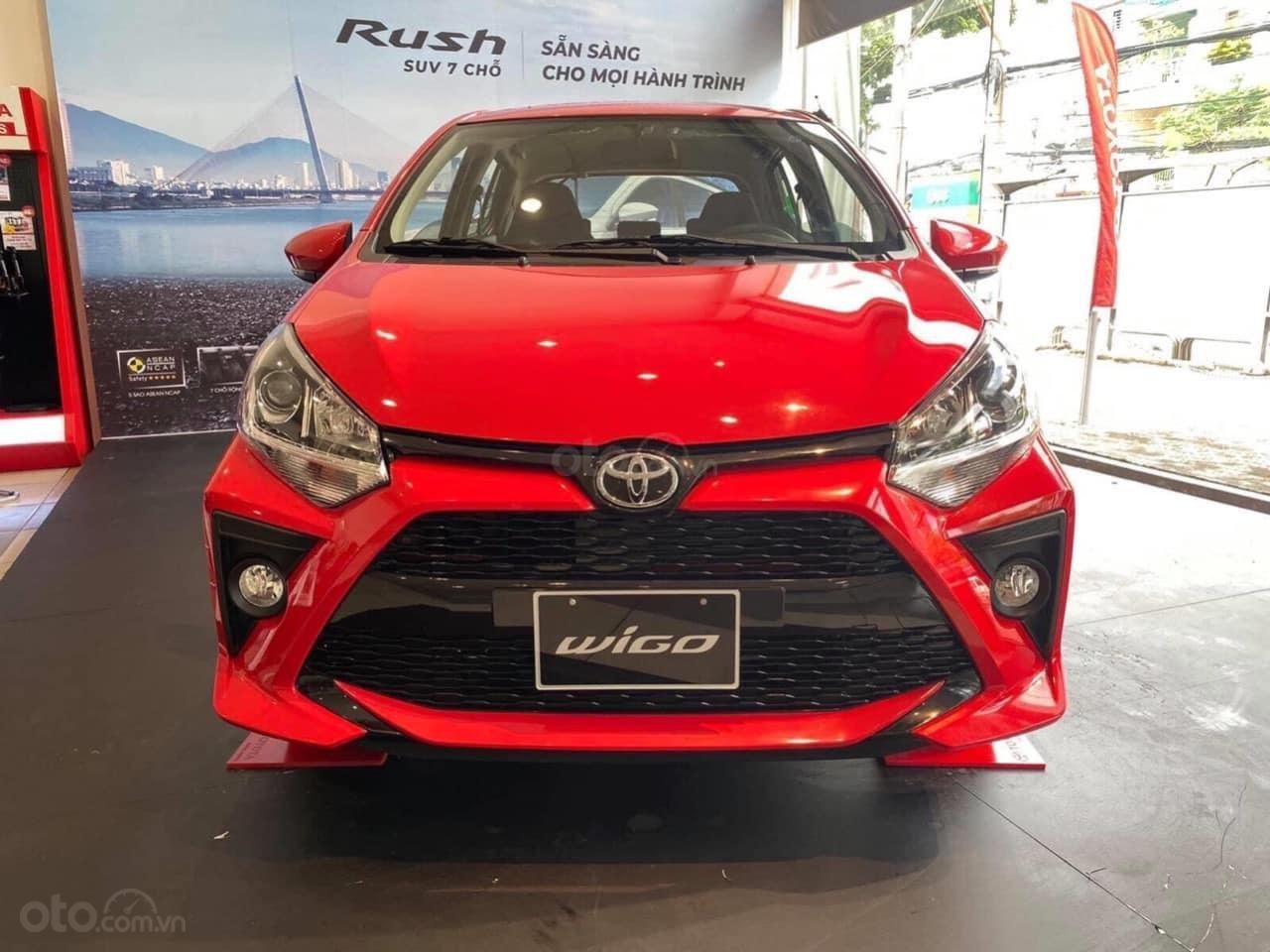Cần bán xe Toyota Wigo 1.2AT sản xuất 2021 trả trước 130 triệu nhận xe (1)