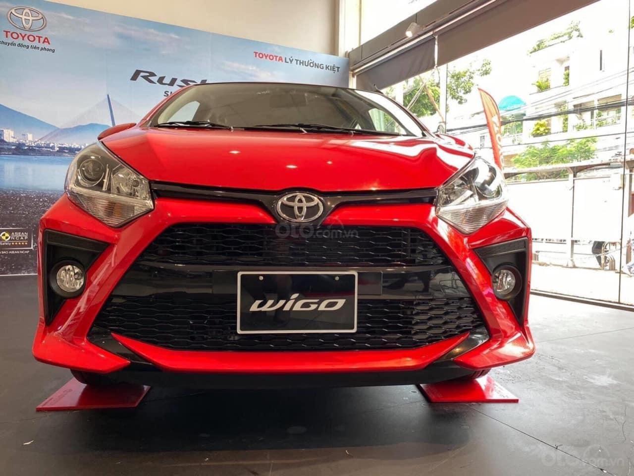 Cần bán xe Toyota Wigo 1.2AT sản xuất 2021 trả trước 130 triệu nhận xe (7)