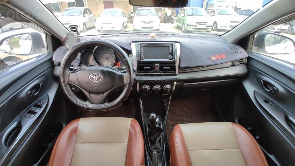 Cần bán nhanh Toyota Vios E năm sản xuất 2014, màu trắng như mới, giá 295 triệu (3)