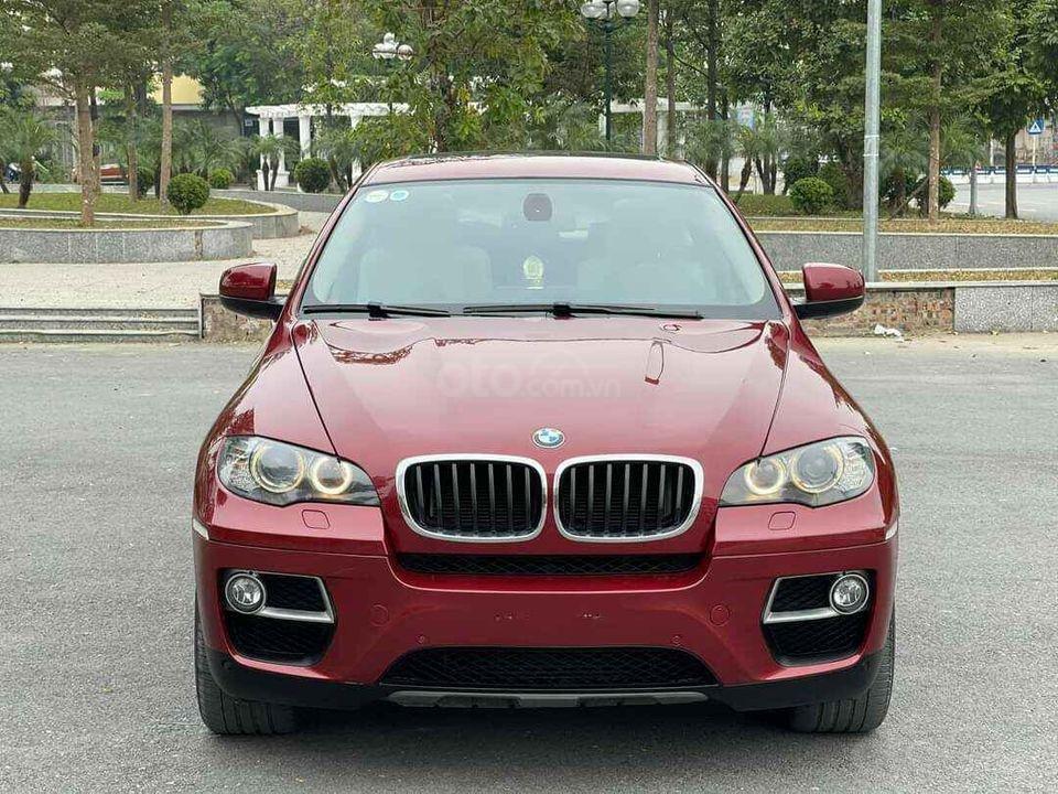 Cần bán xe BMW X6 xDrive35i sản xuất 2012, màu đỏ, nhập khẩu Mỹ, full option (1)