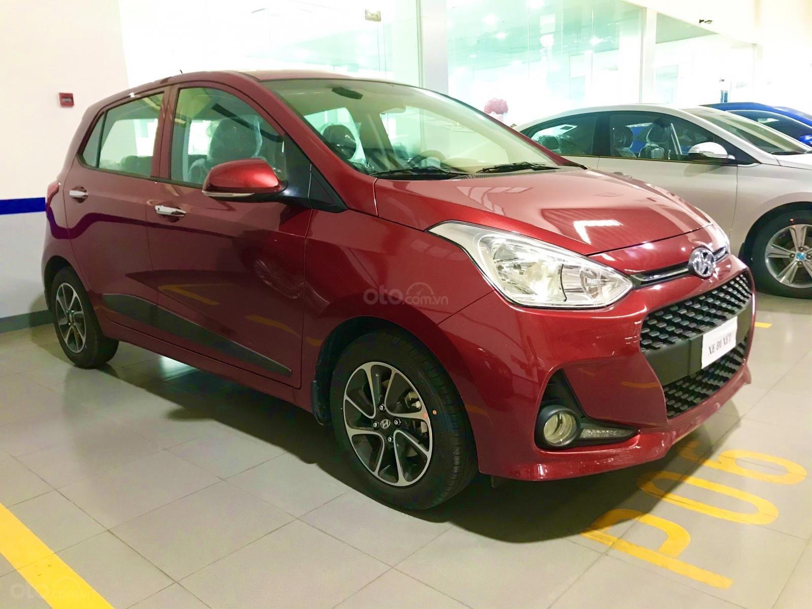 Hyundai i10 số tự động cao cấp đưa trước chỉ 125 triệu mới 100% (1)