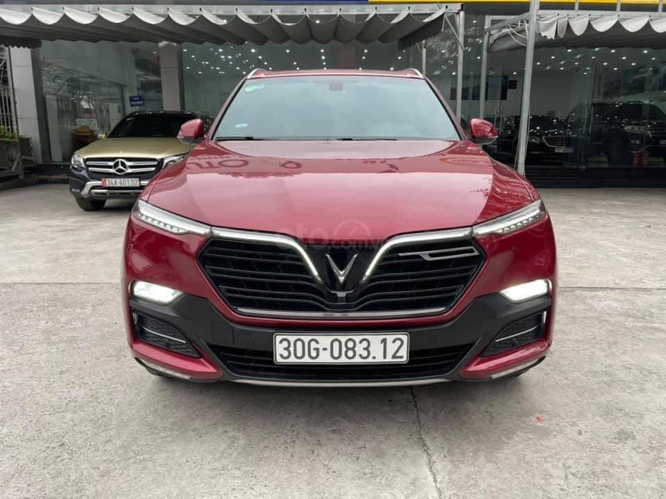 Bán ô tô VinFast LUX SA2.0 model 2020, màu đỏ, bản full kịch 1 chủ từ mới (1)