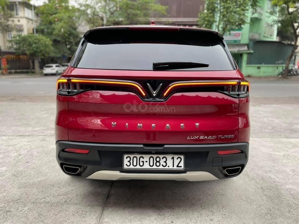 Bán ô tô VinFast LUX SA2.0 model 2020, màu đỏ, bản full kịch 1 chủ từ mới (3)