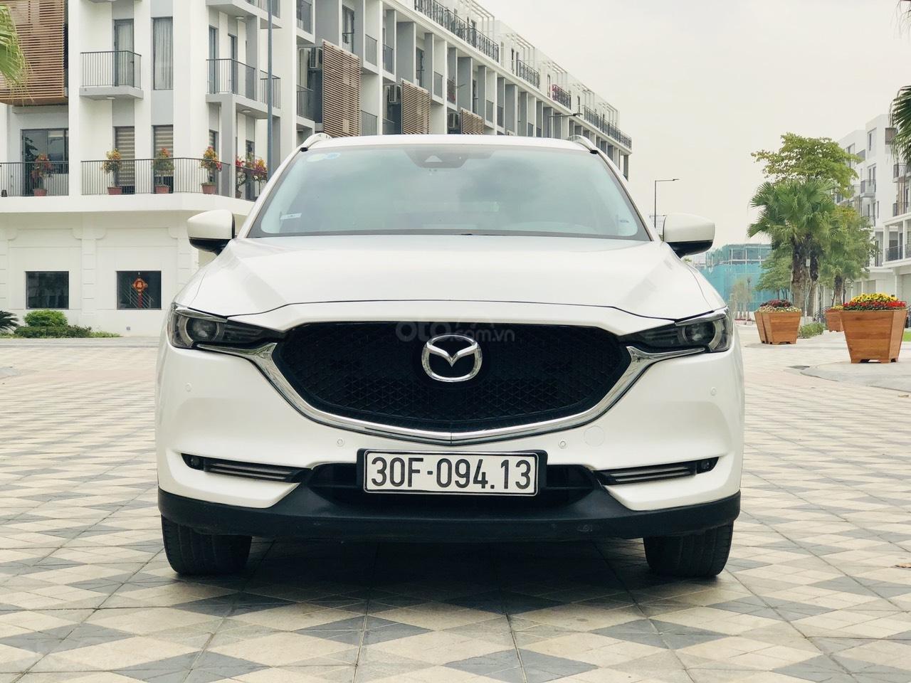 [Hot] bán nhanh Mazda CX5 2.5 đời 2018 màu trắng, xe 1 chủ từ đầu biển HN, xe đẹp không 1 lỗi nhỏ (1)