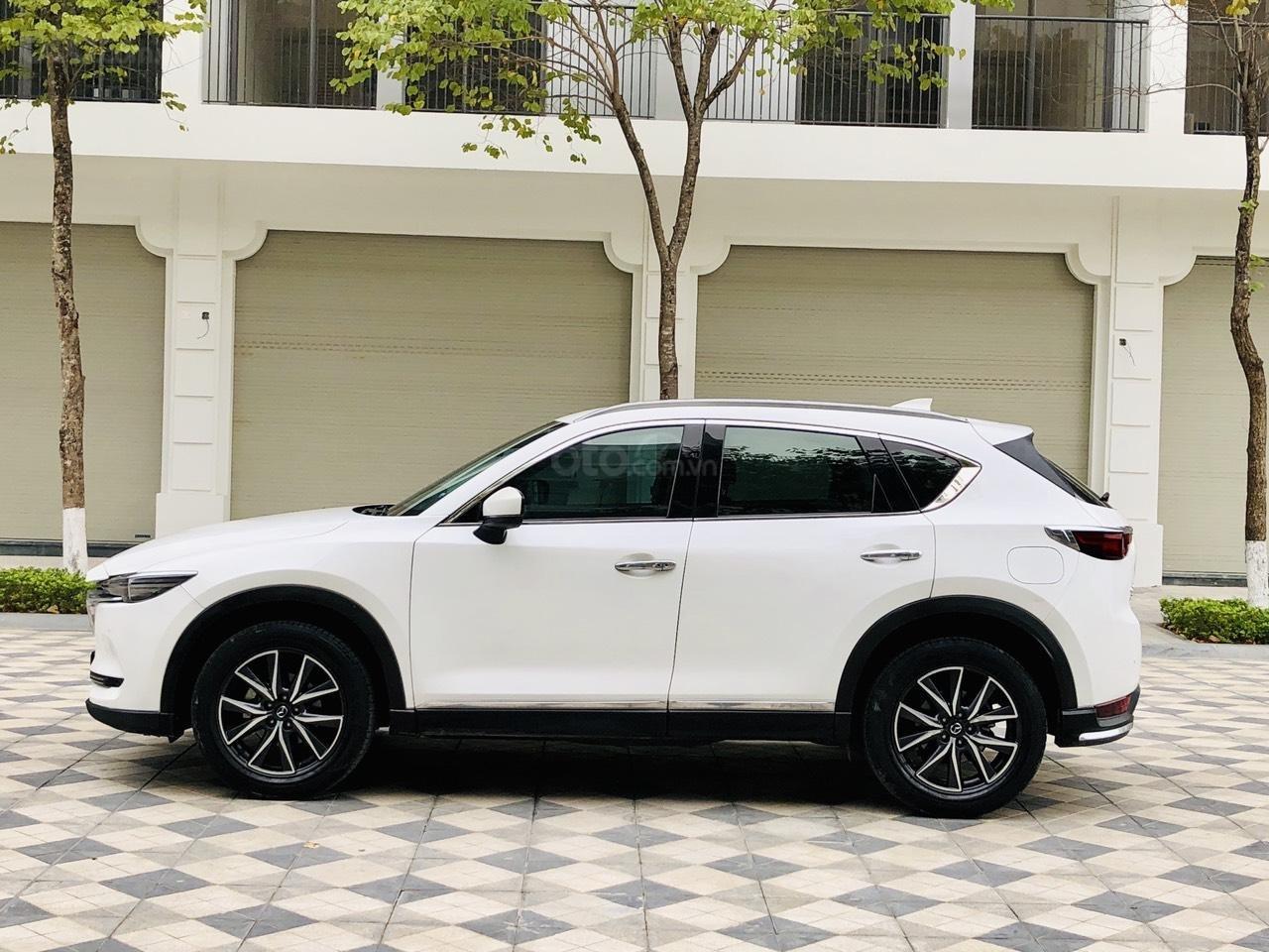 [Hot] bán nhanh Mazda CX5 2.5 đời 2018 màu trắng, xe 1 chủ từ đầu biển HN, xe đẹp không 1 lỗi nhỏ (3)