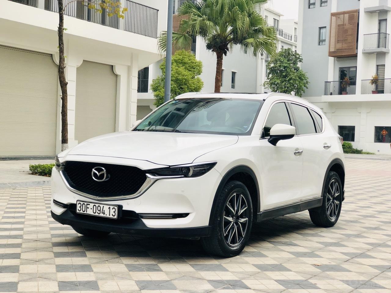 [Hot] bán nhanh Mazda CX5 2.5 đời 2018 màu trắng, xe 1 chủ từ đầu biển HN, xe đẹp không 1 lỗi nhỏ (4)