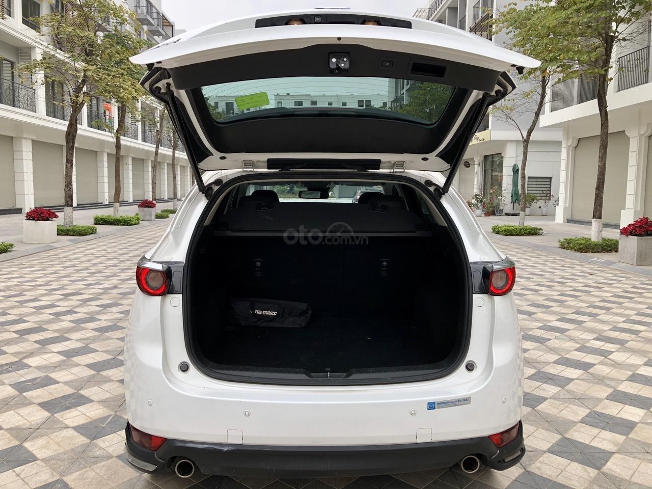 [Hot] bán nhanh Mazda CX5 2.5 đời 2018 màu trắng, xe 1 chủ từ đầu biển HN, xe đẹp không 1 lỗi nhỏ (15)
