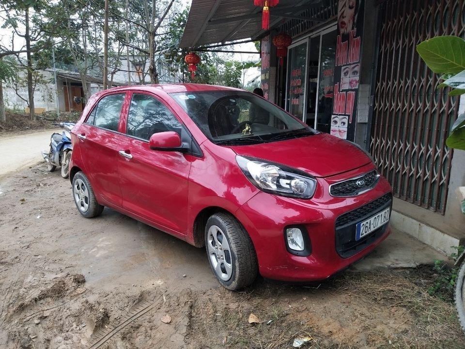 Bán nhanh xe Kia Morning sản xuất 2018, màu đỏ, giá rẻ ngày khai xuân (1)