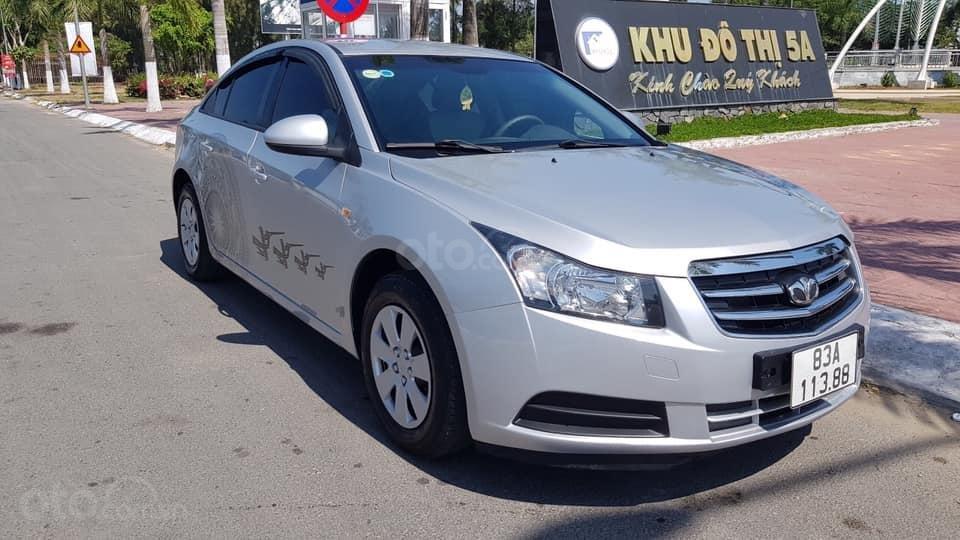 Cần bán ô tô Daewoo Lacetti đời 2009, màu bạc, nhập Hàn nguyên chiếc (1)
