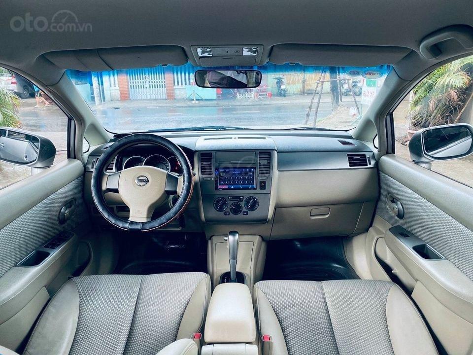 Cần bán gấp với giá ưu đãi nhất chiếc Nissan Tiida 1.6AT đời 2009 (4)