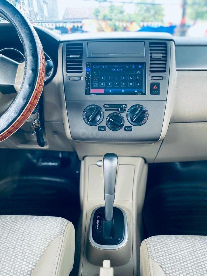 Cần bán gấp với giá ưu đãi nhất chiếc Nissan Tiida 1.6AT đời 2009 (6)