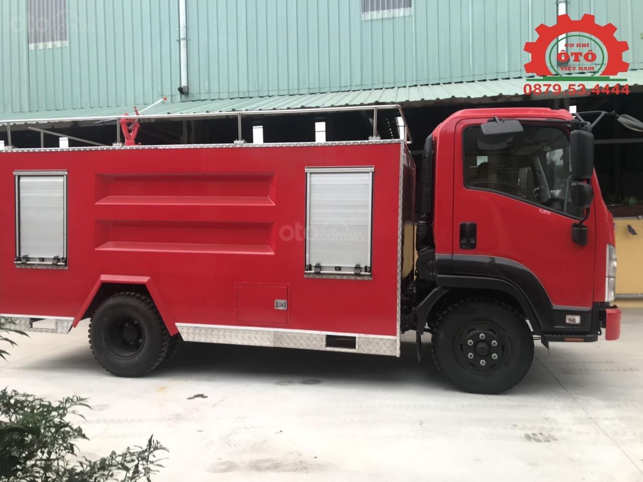 Bán xe chữa cháy, cứu hỏa phun nước 5 khối Izuzu (6)