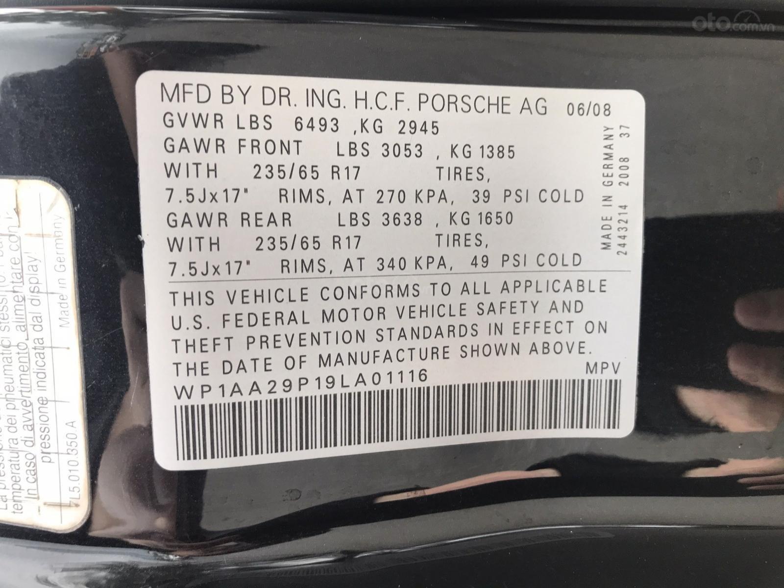 Bán Porsche Cayenne S sản xuất năm 2008 (13)