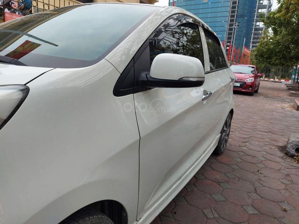 Bán ô tô Kia Morning 2017, màu trắng chính chủ giá cạnh tranh (2)