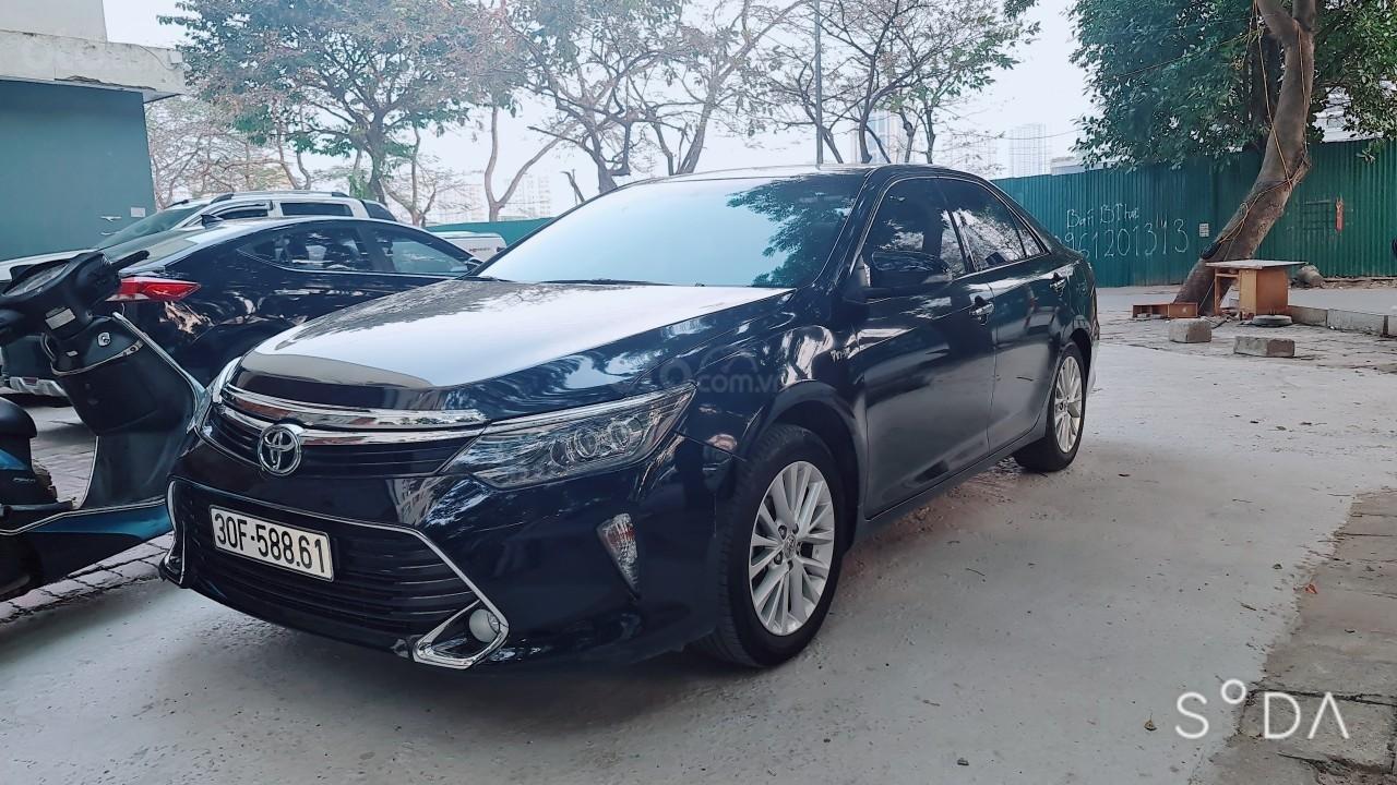 Bán Toyota Camry 2019 bản 2.0 E cực đẹp, 1 chủ từ đầu, màu đen siêu lướt, giá tốt Hà Nội (1)