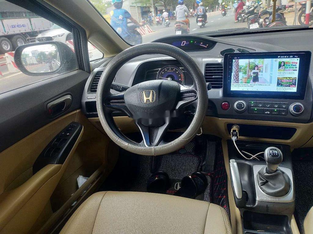 Bán xe Honda Civic 2008, màu đen, nhập khẩu  (5)