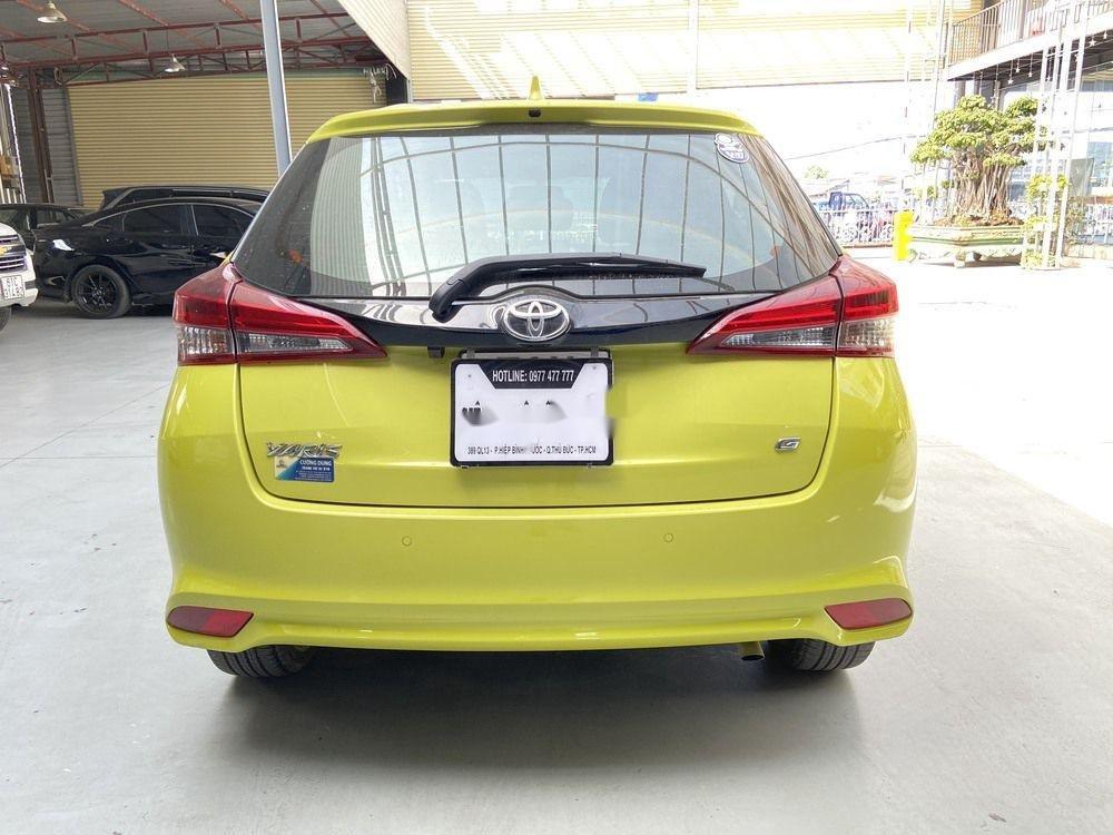 Cần bán lại xe Toyota Yaris 1.5G CVT 2019, màu vàng (4)