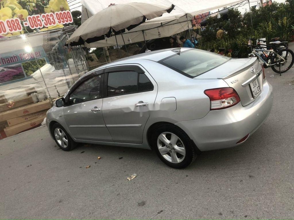 Bán Toyota Vios năm sản xuất 2007, màu bạc còn mới, 285 triệu (1)