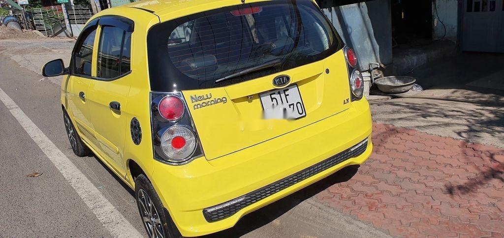 Cần bán xe Kia Morning sản xuất năm 2012, màu vàng (6)