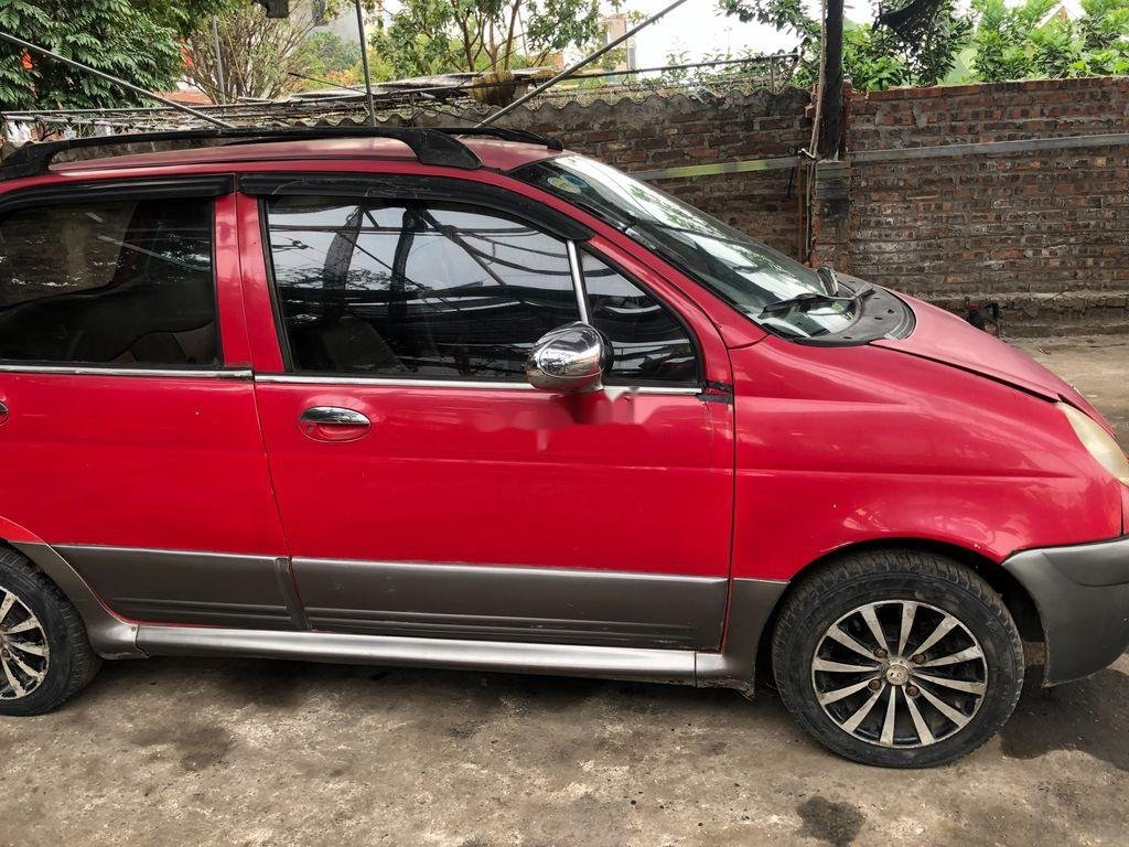 Xe Daewoo Matiz 2005, màu đỏ, nhập khẩu chính chủ, giá tốt (1)