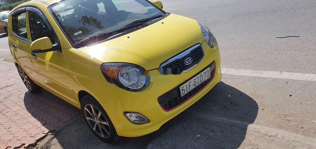 Cần bán xe Kia Morning sản xuất năm 2012, màu vàng (2)
