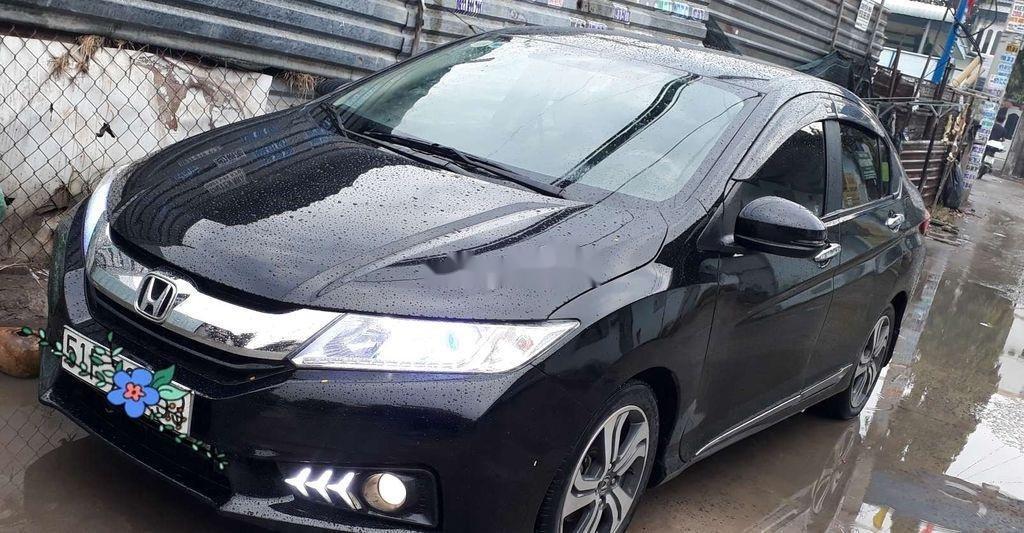 Cần bán lại xe Honda City đời 2016, màu đen còn mới  (2)