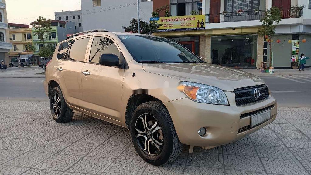 Bán Toyota RAV4 2008, màu vàng, nhập khẩu (2)