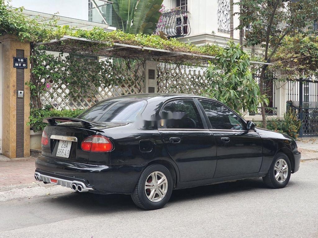 Bán Daewoo Lanos năm sản xuất 2003, màu đen, xe nhập  (6)