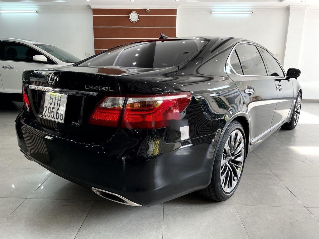 Cần bán lại xe Lexus LS 460L sản xuất 2007, màu đen, nhập khẩu (7)