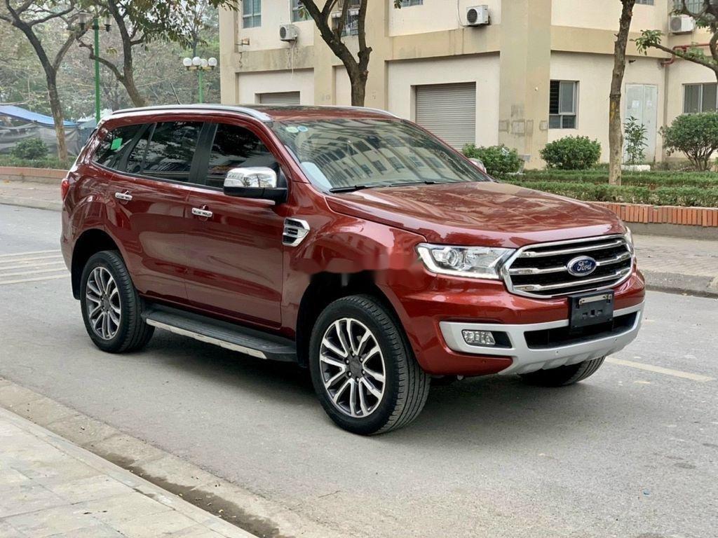 Bán ô tô Ford Everest 2019, màu đỏ, nhập khẩu  (2)
