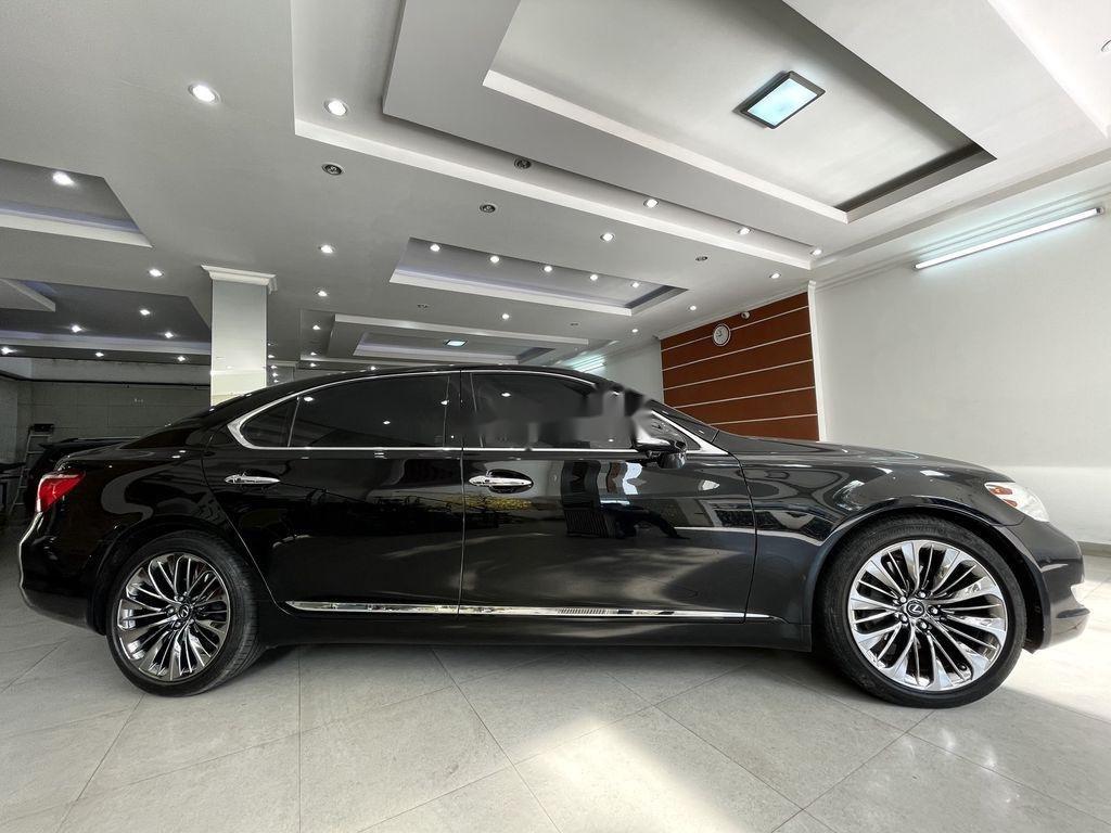 Cần bán lại xe Lexus LS 460L sản xuất 2007, màu đen, nhập khẩu (5)