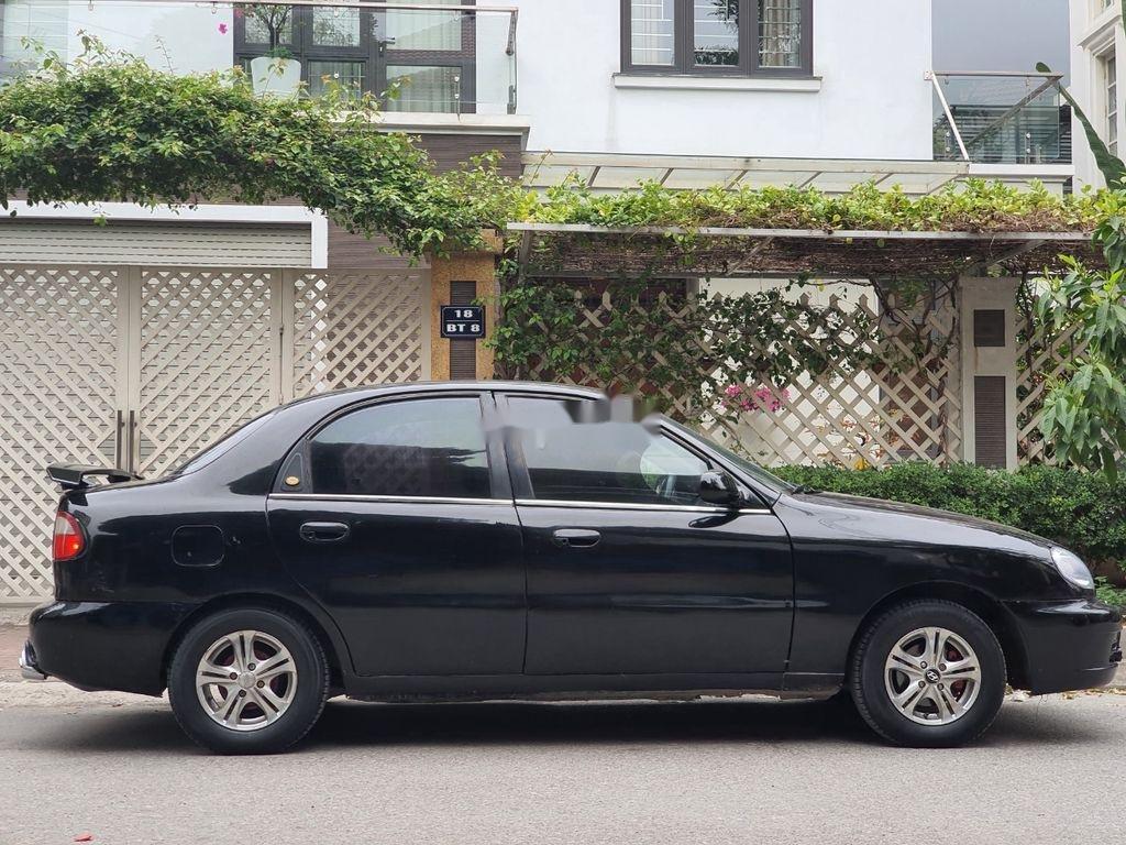 Bán Daewoo Lanos năm sản xuất 2003, màu đen, xe nhập  (2)