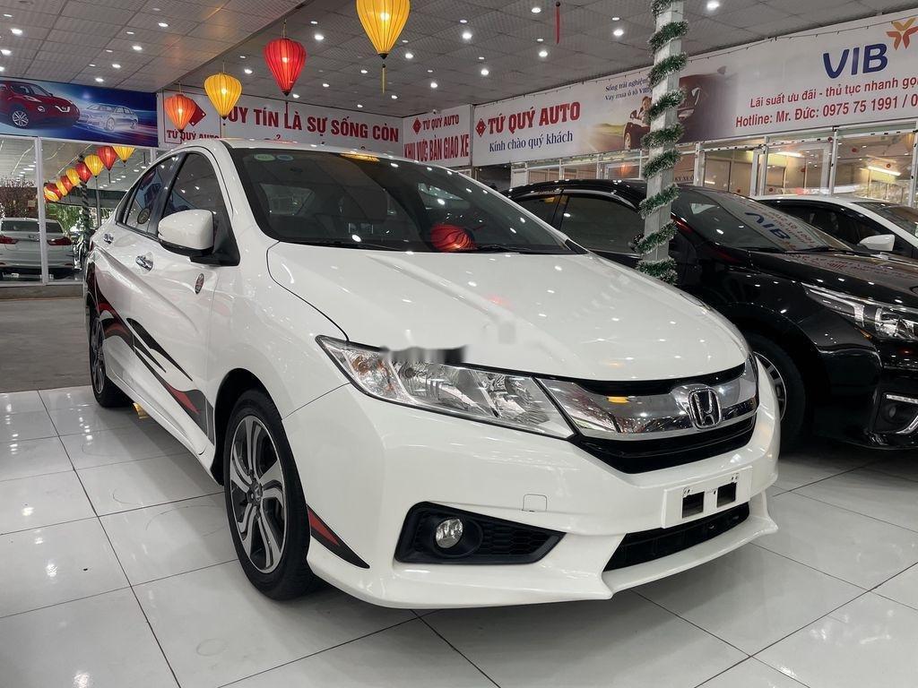 Cần bán lại xe Honda City sản xuất 2015, màu trắng (3)