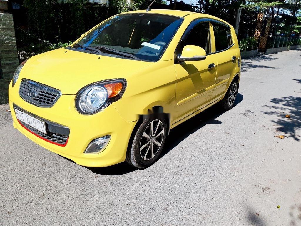 Cần bán xe Kia Morning sản xuất năm 2012, màu vàng (4)