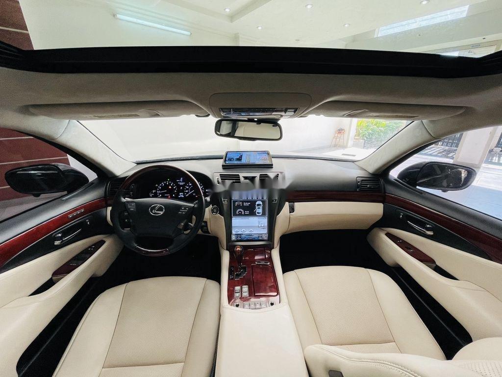 Cần bán lại xe Lexus LS 460L sản xuất 2007, màu đen, nhập khẩu (4)