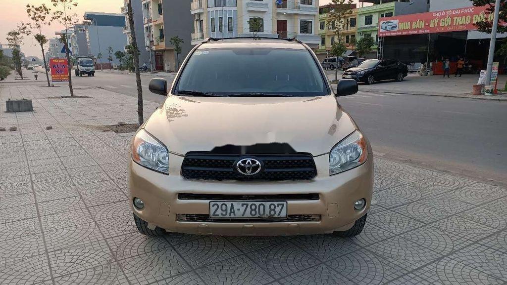 Bán Toyota RAV4 2008, màu vàng, nhập khẩu (1)