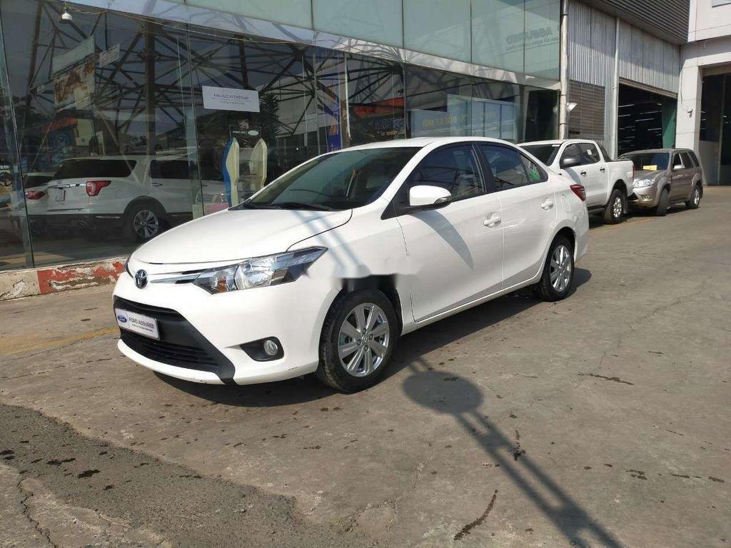 Bán Toyota Vios 1.5E sản xuất 2018, màu trắng (1)