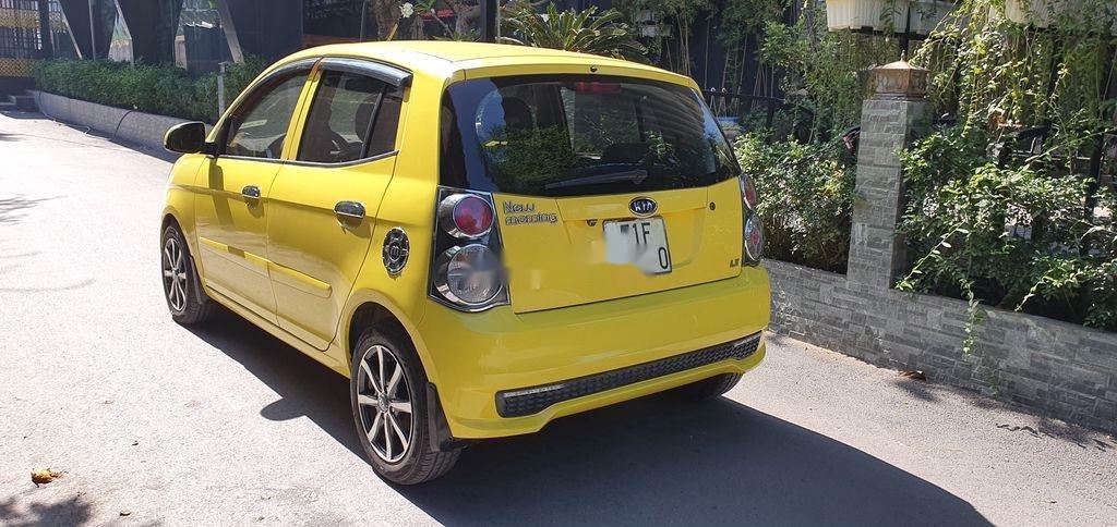 Cần bán xe Kia Morning sản xuất năm 2012, màu vàng (3)