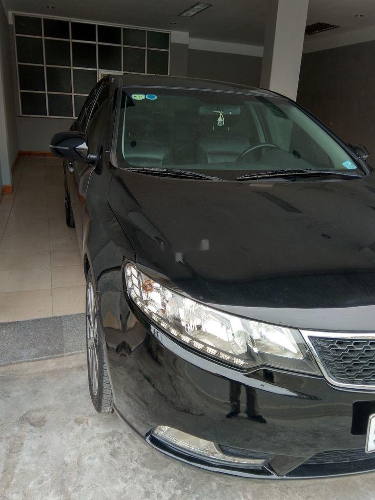 Bán xe Kia Forte đời 2013, màu đen, giá 375tr (2)