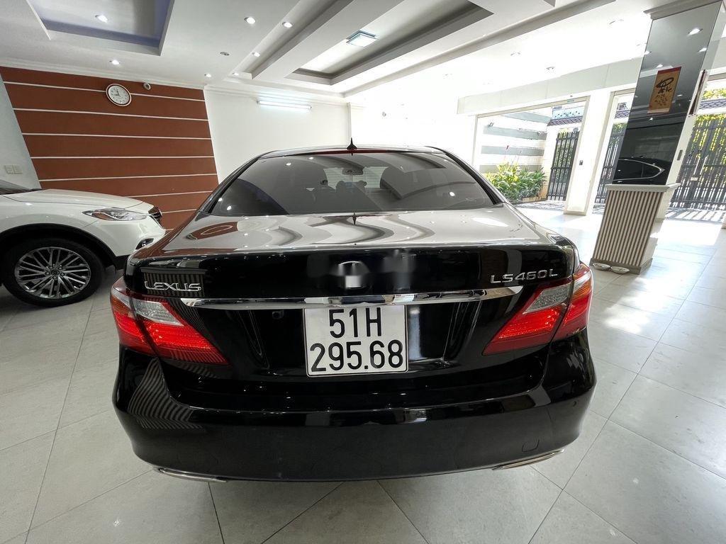Cần bán lại xe Lexus LS 460L sản xuất 2007, màu đen, nhập khẩu (6)