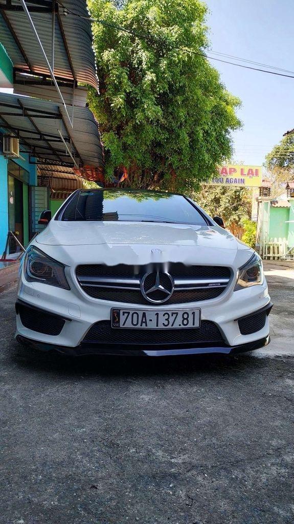 Cần bán xe Mercedes CLA 45 AMG đời 2015, màu trắng (3)