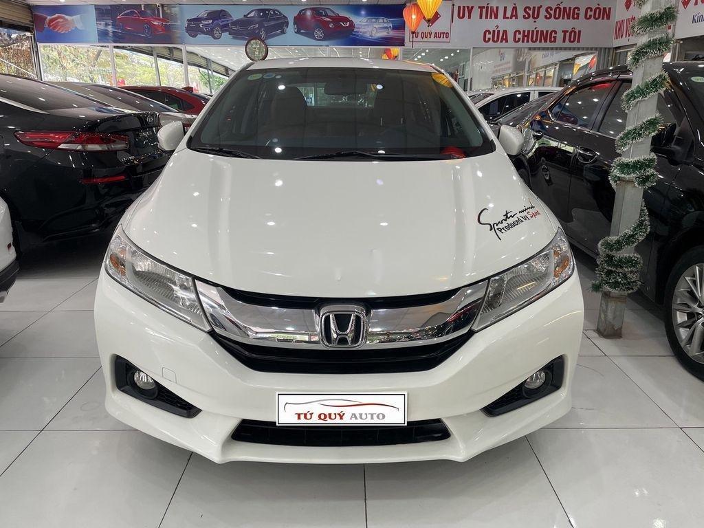 Cần bán lại xe Honda City sản xuất 2015, màu trắng (1)