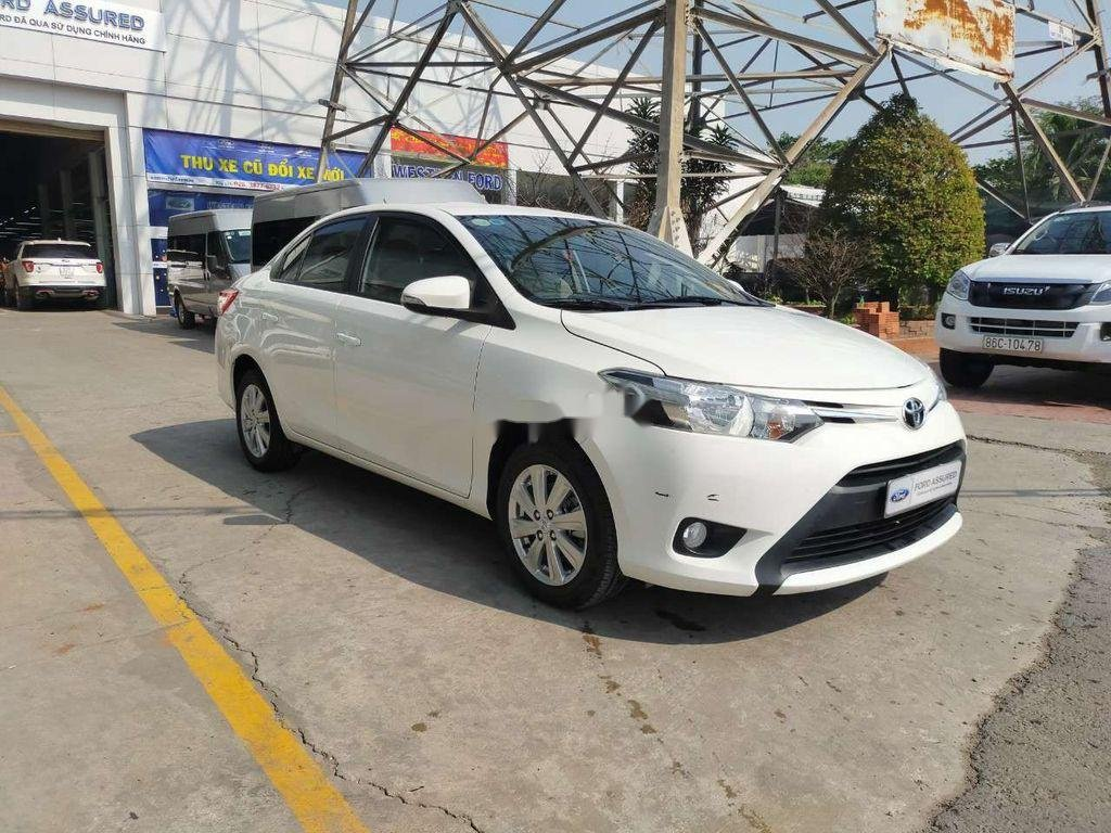 Bán Toyota Vios 1.5E sản xuất 2018, màu trắng (2)